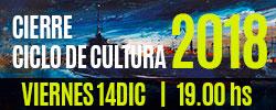 Cierre del Ciclo Cultural 2018